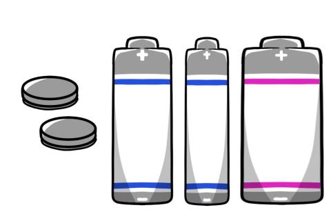 電池のイメージイラスト